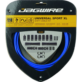Jagwire Sport XL Shift Cable Set 4000mm blue